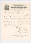 1860-11-13  Penobscot school register of Mattanawcook Island