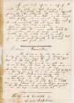 1860-12-28  Report on the Indian Island School of Old Town including a translation exercise by Lewis Sockabeson