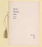Barton Reading Club, Norway, Maine : Year Book 1913 - 1914 by Barton Reading Club