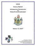 OIT 2006 Annual Report on Information Technology by Maine Office of Information Technology