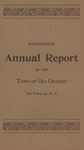 Fourteenth Annual Report of the Town of Old Orchard for the Year Ending Jan. 31, 1897