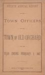 Fourth Annual Report of the Town Officers of the Town of Old Orchard for the Year Ending February 1, 1887 by Town of Old Orchard