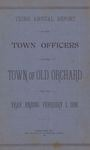 Third Annual Report of the Town Officers of the Town of Old Orchard for the Year Ending February 1, 1886