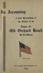 An Accounting of their Stewardship of the Affairs of the Town of Old Orchard Beach By Its Officers for the Year Ending December 31, 1940 by Town of Old Orchard