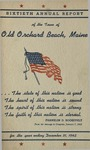 Sixtieth Annual Report of the Town of Old Orchard Beach for the Year Ending December 31, 1942 by Town of Old Orchard