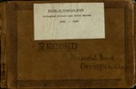 Record of Financial Board of Orrington Circuit and First Church, 1871-1916 by Orrington Methodist Churches