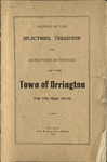 Annual Report of the Selectmen, Treasurer and Supervisor of Schools of the Town or Orrington for the Year 1902-1903 by Town of Orrington, Maine