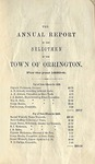 Annual Report of the Selectmen of the Town of Orrington For the Year 1855-1856 by Town of Orrington, Maine