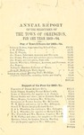 Annual Report of the Selectmen of the Town of Orrington For the Year 1863-1864 by Town of Orrington, Maine