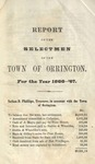 Annual Report of the Selectmen of the Town of Orrington For the Year 1866-1867 by Town of Orrington, Maine