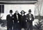 Don Gregory, Ellen Blake, Louine Spinney, Leland Blake by Pauline M. Bickford-Duane