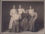 Bartlett, Blake, Brown, Conley, and Spinney Women, circa 1905 by Orrington Historical Society