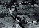 Aerial View of Orrington Corner, circa 1950 by Orrington Historical Society
