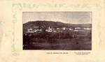 Postcard, View from Hoxie's Hill toward Bald Hill, South Orrington by Orrington Historical Society