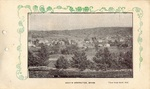 Postcard, View from Bald Hill, South Orrington by Orrington Historical Society