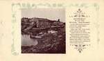 Postcard, Old Saw Mills at Low Tide, South Orrington by Orrington Historical Society