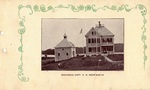 Postcard, Captain C.W. Wentworth's Residence, South Orrington by Orrington Historical Society