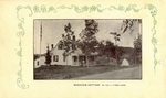 Postcard, Riverview Cottage, George K. Stubbs, South Orrington by Orrington Historical Society