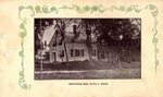 Postcard, Mrs. Ruth P. Snow's Residence, South Orrington by Orrington Historical Society