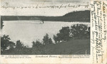 Postcard, Boston Steamer on the Penobscot River, South Orrington, 1907 by Orrington Historical Society