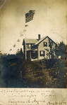 Postcard, Hillside Cottage, South Orrington, 1900 by Orrington Historical Society