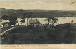 Postcard, View from Stubb's Pasture, South Orrington, 1910 by Orrington Historical Society