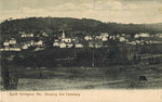 Postcard, Showing Old Cemetery, South Orrington, circa 1910 by Orrington Historical Society