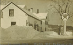 E.L. Young Store, South Orrington, Winter 1948 by Orrington Historical Society