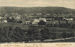 South End of Village, South Orrington, circa 1910 by Orrington Historical Society