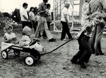 Unidentified Children at Old Home Week, Orrington, circa 1960 by Orrington Historical Society