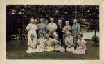 Women at the Hanson Home, 1937 by Orrington Historical Society