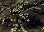 Aerial View of South Orrington, circa 1950 by Orrington Historical Society