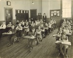 Burns Memorial School, 1940 by Orrington Historical Society