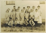 South Orrington School, circa 1910 by Orrington Historical Society