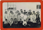 Edna McGraw's Class at South Orrington, 1914 by Orrington Historical Society