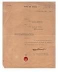 Death Certificate Orville C. Davis by Adjutant General, Canadian Militia
