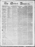 The Oxford Democrat : Vol 18. No. 52 - January 17, 1868