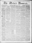 The Oxford Democrat : Vol 19. No. 2 - January 31, 1868