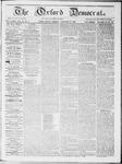 Oxford Democrat : Vol 19. No. 2 - January 31, 1868