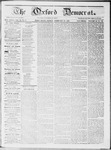 Oxford Democrat : Vol 19. No. 6 - February 28, 1868