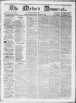 The Oxford Democrat : Vol 19. No. 7 - March 06, 1868