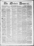 Oxford Democrat : Vol 19. No. 8 - March 13, 1868