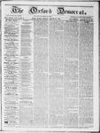 Oxford Democrat : Vol 19. No. 9 - March 20, 1868