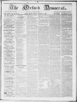 The Oxford Democrat : Vol 19. No. 10 - March 27, 1868