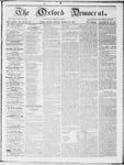 Oxford Democrat : Vol 19. No. 10 - March 27, 1868