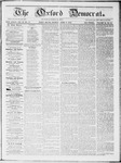 The Oxford Democrat : Vol 19. No. 11 - April 03, 1868