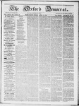 The Oxford Democrat : Vol 19. No. 12 - April 10, 1868