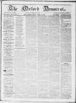 Oxford Democrat : Vol 19. No. 13 - April 17, 1868