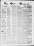 The Oxford Democrat : Vol 19. No. 14 - April 24, 1868