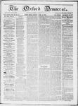 Oxford Democrat : Vol 19. No. 14 - April 24, 1868